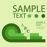 Infographic projekta szablon z graficznymi elementami ustawia ilustrację Wektorowa kartoteka w warstwach dla łatwego edytorstwa Zdjęcia Royalty Free