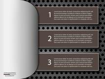 Infographic realistiska designbeståndsdelar Royaltyfria Foton