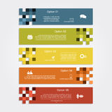 Infographic report template layout. Vector Stock Photography