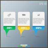 Infographic Schablone lizenzfreies stockfoto