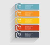 Infographic-Schablonen für Geschäfts-Vektor Lizenzfreie Stockfotos