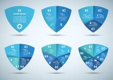 infographic Schablonen- und Marketing-Ikonen des Designs 3D Lizenzfreies Stockfoto