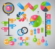 Infographic-Schablonengeschäfts-Vektorillustration Stockfoto