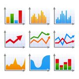 Infographic set with colorful arrows. Vector illustration Royalty Free Stock Image