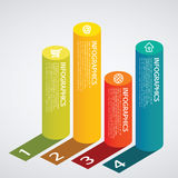 Infographic. Set of infographic elements for showing statistics and demographics Stock Photo