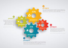 Infographic. Set of infographic elements for showing statistics and demographics Royalty Free Stock Images