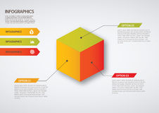 Infographic. Set of infographic elements for showing statistics and demographics Stock Photos