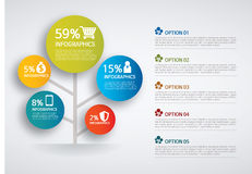 Infographic. Set of infographic elements for showing statistics and demographics Royalty Free Stock Photography