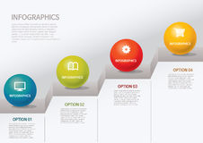 Infographic. Set of infographic elements for showing statistics and demographics Royalty Free Stock Photos