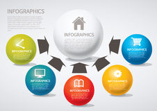 Infographic. Set of infographic elements for showing statistics and demographics Stock Photography