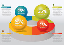 Infographic royalty free illustration