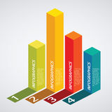 Infographic. Set of infographic elements for showing statistics and demographics Royalty Free Stock Image
