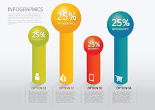 Infographic. Set of infographic elements for showing statistics and demographics Royalty Free Stock Photo