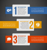 Infographic set Stock Images