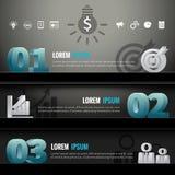 Infographic Shelf Modern Design 3d Template Business Icons