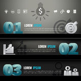 Infographic shelf modern design 3d template business icons Royalty Free Stock Images