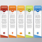 Infographic Stick royalty free stock photo