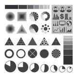 Infographic symboler, beståndsdel av infographicsen Royaltyfri Foto