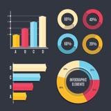 Infographic Szablon Obrazy Royalty Free