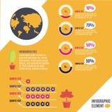 Infographic Szablon Zdjęcie Royalty Free