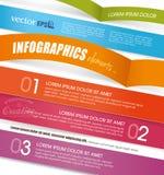 Infographic szablonu projekt Zdjęcia Royalty Free