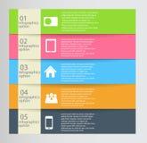 Infographic szablonu wektoru biznesowa ilustracja Obraz Royalty Free
