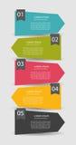 Infographic szablony dla Biznesowego wektoru Zdjęcia Royalty Free