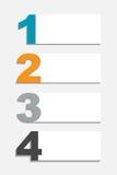 Infographic szablony dla Biznesowego wektoru Fotografia Stock