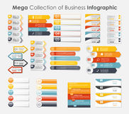 Infographic szablony dla Biznesowego wektoru Obrazy Royalty Free