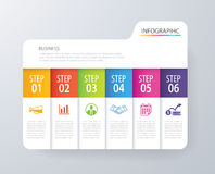 Infographic tab index design vector and marketing template busin. Ess. Can be used for workflow layout, diagram, annual report, web design. Business concept with Royalty Free Stock Photos
