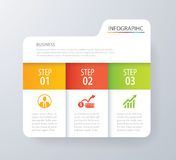 Infographic tab index design vector and marketing template busin. Ess. Can be used for workflow layout, diagram, annual report, web design. Business concept with Royalty Free Stock Photo