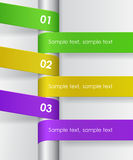 Infographic Tapes Royalty Free Stock Images