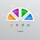 Infographic template Royalty Free Stock Images