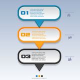 Infographic Template Banner Royalty Free Stock Photos