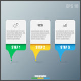 Infographic template royalty free stock photo