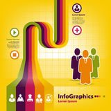 Infographic template for business design Stock Photo