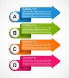 Infographic template for business presentations or information banner. Royalty Free Stock Images