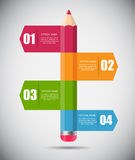 Infographic Template for Business Vector Royalty Free Stock Photo