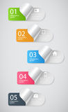 Infographic template business vector illustration Stock Photos