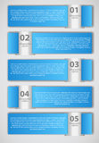 Infographic template business vector illustration Royalty Free Stock Image