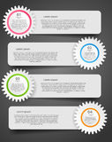 Infographic template business vector illustration Royalty Free Stock Photos