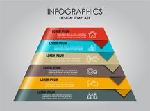 Infographic template. Can be used for workflow layout, diagram, business step options, banner, web design. Infographic template. Vector illustration. Can be Stock Image
