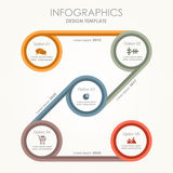 Infographic template. Can be used for workflow layout, diagram, business step options, banner, web design. Infographic template. Vector illustration. Can be royalty free illustration