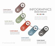 Infographic template. Can be used for workflow layout, diagram  Stock Photos