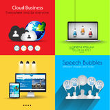 Infographic template collections with a lot of different design elements Stock Photos