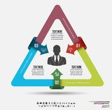 Infographic template . Design concept for presentation or diagram. Vector EPS10. Royalty Free Stock Photos