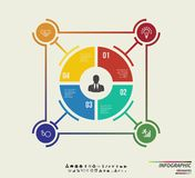 Infographic template . Design concept for presentation or diagram. Vector EPS10 Stock Photo