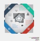 Infographic template . Design concept for presentation or diagram. Vector EPS10 Stock Photos