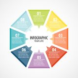 Infographic Template Design Concept Vector Royalty Free Stock Photography