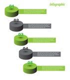 Infographic template design Stock Photo